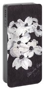Dogwood Blooms Portable Battery Charger