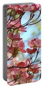 Dogwood Flowering Trees Pink Dogwood Flowers Baslee Troutman Portable Battery Charger