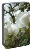 Dogwood Flowers White Dogwood Trees Blossoming 8 Art Prints Baslee Troutman Portable Battery Charger