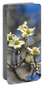 Dogwood In Bloom Portable Battery Charger