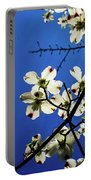 Dogwood In The Sky #2 Portable Battery Charger