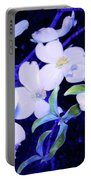 Dogwood Night Blooms Portable Battery Charger