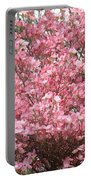 Dogwood Tree Flowers Art Prints Canvas Pink Dogwood Portable Battery Charger