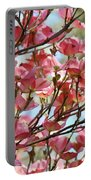 Dogwood Tree Landscape Art Prints Blue Sky Baslee Troutman Portable Battery Charger