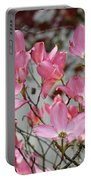 Dogwood Trees Flower Blossoms Art Baslee Troutman Portable Battery Charger