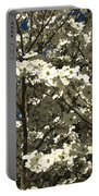 Dogwoods In Bloom Portable Battery Charger