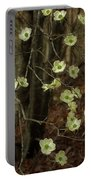 Dogwoods In The Spring Portable Battery Charger