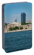 Dolmabahce Palace On The Bosphorus Portable Battery Charger