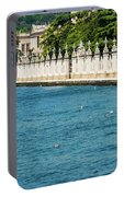 Dolmabahce Palace Tower And Fence Portable Battery Charger