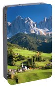 Dolomites, Italy #3 Portable Battery Charger
