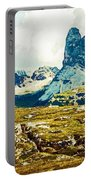 Dolomites, Monte Piana, Italy Portable Battery Charger