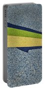 Dolphinfish Inlay On Alabama Welcome Center Floor Portable Battery Charger
