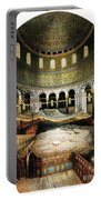 Dome Of The Rock, Jerusalem, 1862 Portable Battery Charger