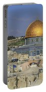 Dome Of The Rock Jerusalem Israel Portable Battery Charger