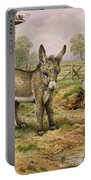 Donkey And Farmyard Fowl  Portable Battery Charger