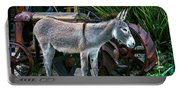 Donkey And Old Tractor Portable Battery Charger