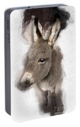 Donkey Foal No 02 Portable Battery Charger