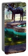 Donkey Fountain Portable Battery Charger