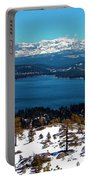 Donner Lake Sierra Nevadas Portable Battery Charger