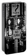 Don't Walk At Times Square Portable Battery Charger