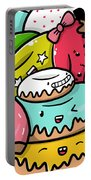 Donut Doodle Portable Battery Charger