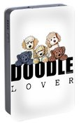 Doodle Lover Portable Battery Charger