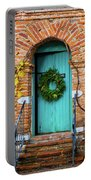 Door With Holiday Reef Portable Battery Charger