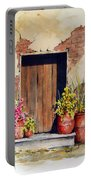 Door With Pots Portable Battery Charger