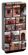 Doors Of Albuquerque Portable Battery Charger