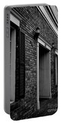 Doorway Black And White Portable Battery Charger