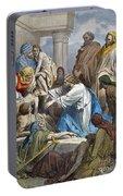 Dor�: Jesus Healing Sick Portable Battery Charger