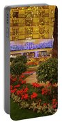 Dorchester Hotel London At Christmas Portable Battery Charger