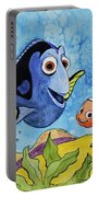 Dori And Nemo Portable Battery Charger