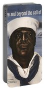 Dorie Miller - Above And Beyond - Ww2 Portable Battery Charger