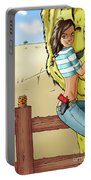 Dorothy In Kansas Portable Battery Charger