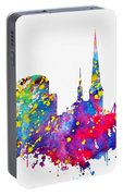 Dortmund Skyline-colorful Portable Battery Charger