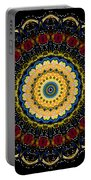Dotted Wishes No. 6 Mandala Portable Battery Charger