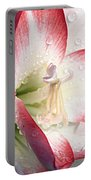 Double Amaryllis Portable Battery Charger