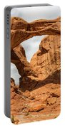 Double Arch - Arches National Park Utah Portable Battery Charger