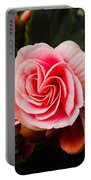 Double Begonia Portable Battery Charger