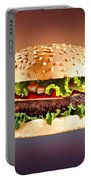 Double Cheeseburger  Portable Battery Charger