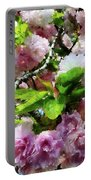 Double Cherry Blossoms Portable Battery Charger