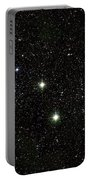 Double Cluster, Ngc 869 And Ngc 884 Portable Battery Charger