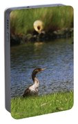 Double-crested Cormorant 3 Portable Battery Charger
