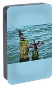 Double-crested Cormorants Portable Battery Charger