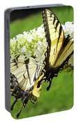 Double The Pleasure - Eastern Tiger Swallowtails Portable Battery Charger