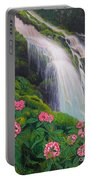 Double Hawaii Waterfall Portable Battery Charger