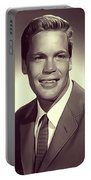 Doug Mcclure, Vintage Actor Portable Battery Charger
