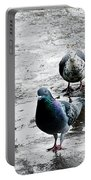 Doves On The Street Portable Battery Charger