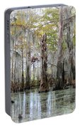 Down On The Bayou - Digital Painting Portable Battery Charger
